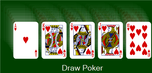 video draw poker